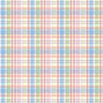Wallpaper - Blue Ribbon Blue Plaid