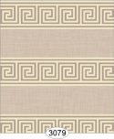 Greek Key Brown Beige