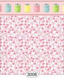 Wallpaper Sew Perfect Pins Pink Dark