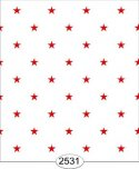 Wallpaper - Red Stars on White