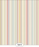 Wallpaper - Emma - Stripe - Red