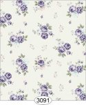 Wallpaper Rose Hill Small Floral Purple