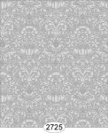 Wallpaper - Annabelle Mini Damask Grey Dark