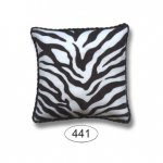 Pillow - Animal Print - Zebra - Square