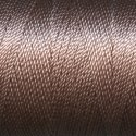 Tiny Twisted Cord - Brown Beige Dark
