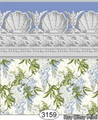 Wallpaper Jolie Wisteria Blue
