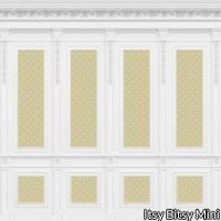 French Wall Panel Boiserie Yellow