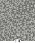Wallpaper - Sakura Circles Grey