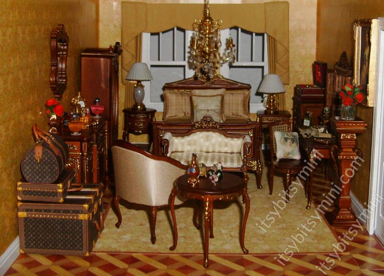 Lady's Master Bedroom by Lonnie Cohen - Click Image to Close