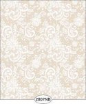 Wallpaper - Daniella Lace - Beige No Border