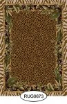 Rug - Tropical - Animal Print - 0673