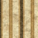 Wallpaper - Medallion Black - Stripe NO BORDER