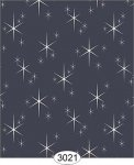 Wallpaper Retro Twinkling Stars Black