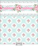 Wallpaper - Daniella Doily - Blue