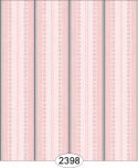 Wallpaper - Annabelle Ribbon Stripe Pink Quartz