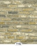 Wallpaper - Tumbled Brick - Grey