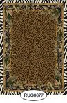 Rug - Tropical - Animal Print - 0677