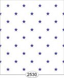 Wallpaper - Blue Stars on White