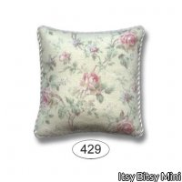 Pillow - Emma - Rose - Pink - Square