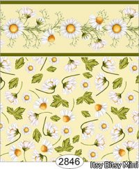 Wallpaper - Daisy Yellow on Yellow Floral