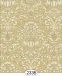 Wallpaper - Annabelle Damask Brown Cafe Latte