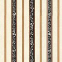 Wallpaper - French Kitchen - Black - Stripe NO BORDER