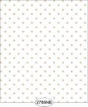 Wallpaper - Daniella Dot - Beige No Border