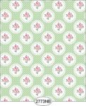 Wallpaper - Daniella Doily - Green No Border