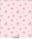 Wallpaper - Daniella Floral Toss - Pink No Border