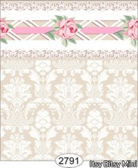 Wallpaper - Daniella Damask - Beige