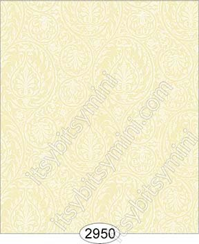 Wallpaper Birch Damask Yellow - Click Image to Close