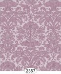 Wallpaper - Annabelle Reverse Damask Purple Orchid