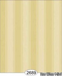 Wallpaper Rose Hill Stripe Yellow