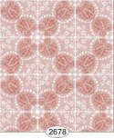 Wallpaper Rose Hill Tile Peach