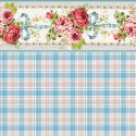 Wallpaper - Penelope Plaid Blue