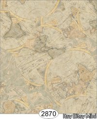 Wallpaper - Vintage Maps - Medium