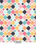 Wallpaper Retro Overlapping Diamonds