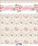 Wallpaper - Daniella Floral Damask - Beige