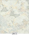 Wallpaper - Vintage Maps - Light