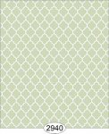 Wallpaper Geometric Trellis Reverse Green Mint