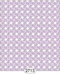 Wallpaper - Cane Lattice Purple