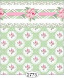Wallpaper - Daniella Doily - Green