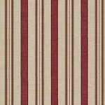 Wallpaper - Roses in Bloom 2 Antique Red Stripe NO BORDER