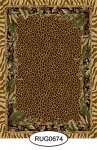 Rug - Tropical - Animal Print - 0674