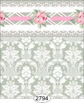 Wallpaper - Daniella Damask - Olive