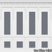 French Wall Panel Boiserie Blue Navy
