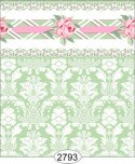 Wallpaper - Daniella Damask - Green
