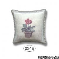 Pillow - Potted Geranium