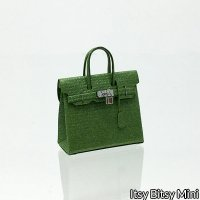 Birkli Dollhouse Handbag Purse Green Emerald