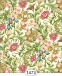 Wallpaper - Floral Tapestry - Pink